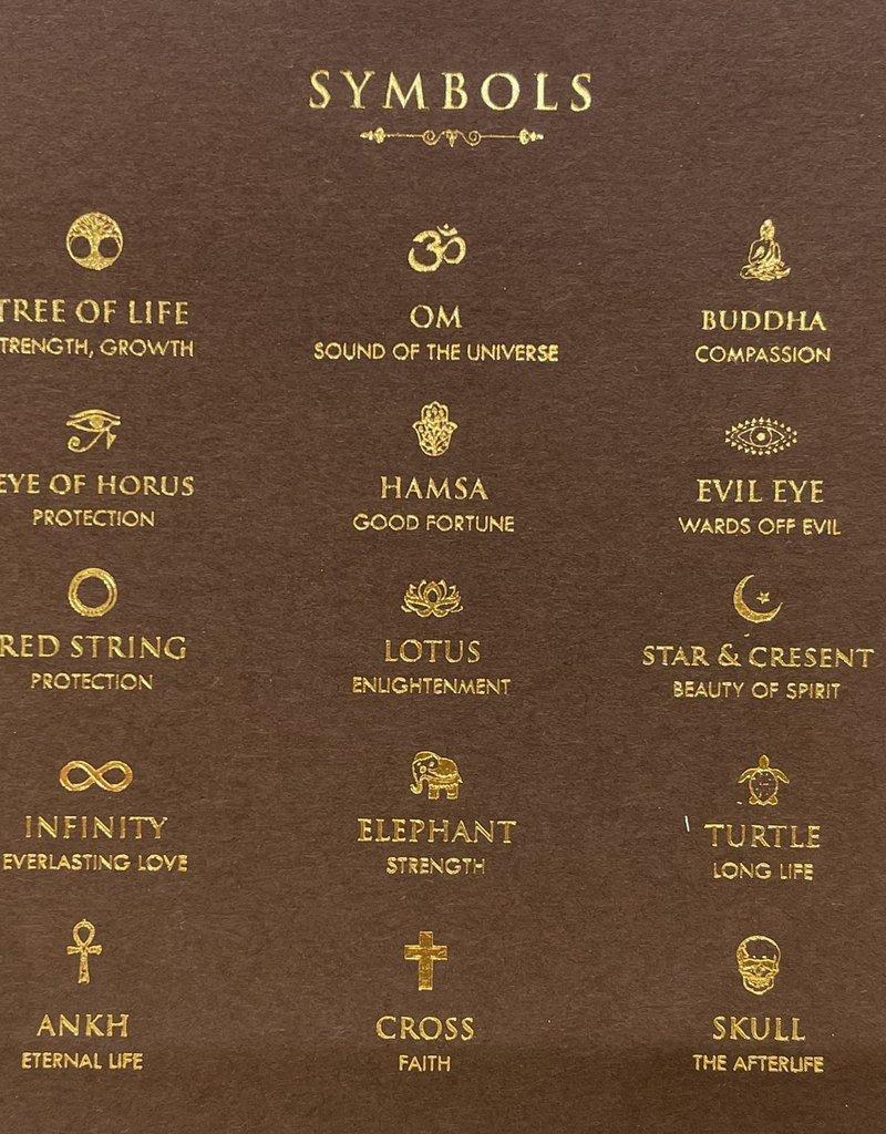 karma & luck Turquoise Thrive Lotus Charm Bracelet