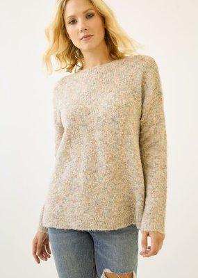 stardust Side Slit Multi-colour Yarn Sweater