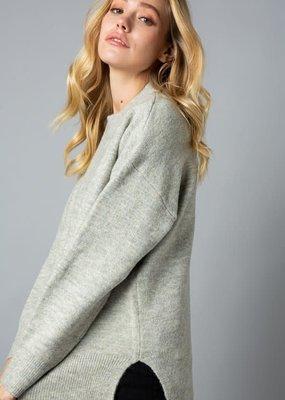 stardust Mock Neck Oversized Sweater