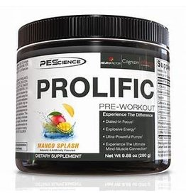 PEScience PEScience Prolific Pre-workout