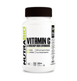 NutraBio Vitamin C 1000mg Rose Hips