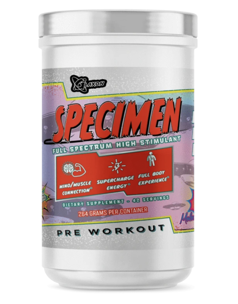 Glaxon Glaxon Specimen High Stimulant Pre-workout