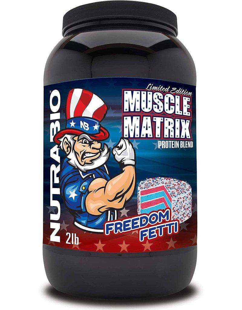 NutraBio NutraBio Muscle Matrix - Freedom Fetti