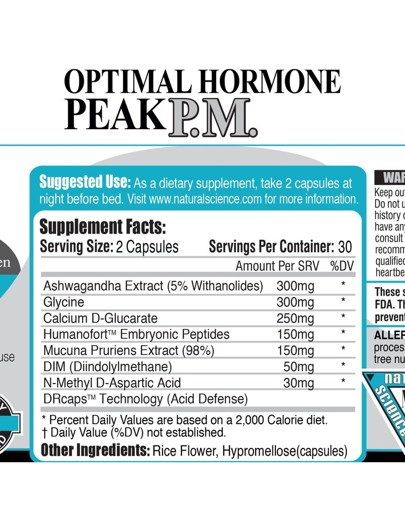 Natural Science Creation Natural Science Creation Optimal Hormone Peak