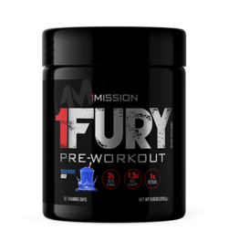 1 Mission Nutrition 1 Fury Huckleberry Rush