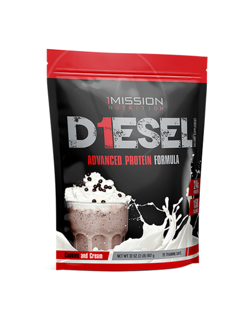 1 Mission Nutrition 1 Mission Nutrition D1ESEL Cookies and Cream