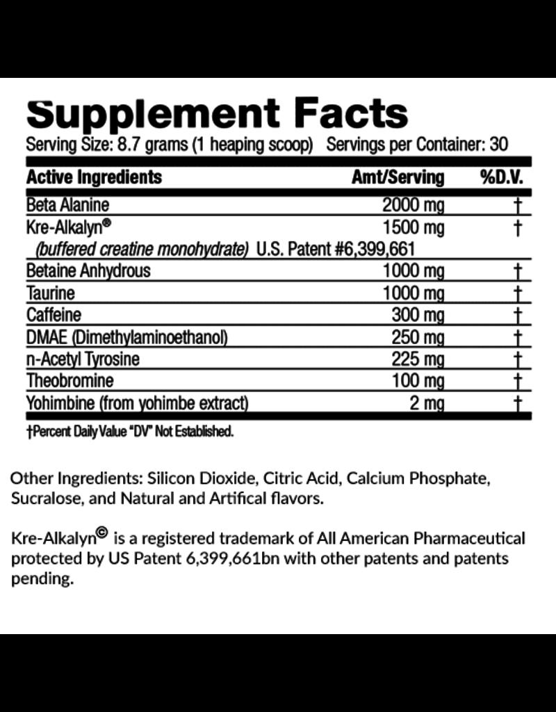 1 Mission Nutrition 1 Mission Nutrition 1Fury Stimulant Pre-Workout