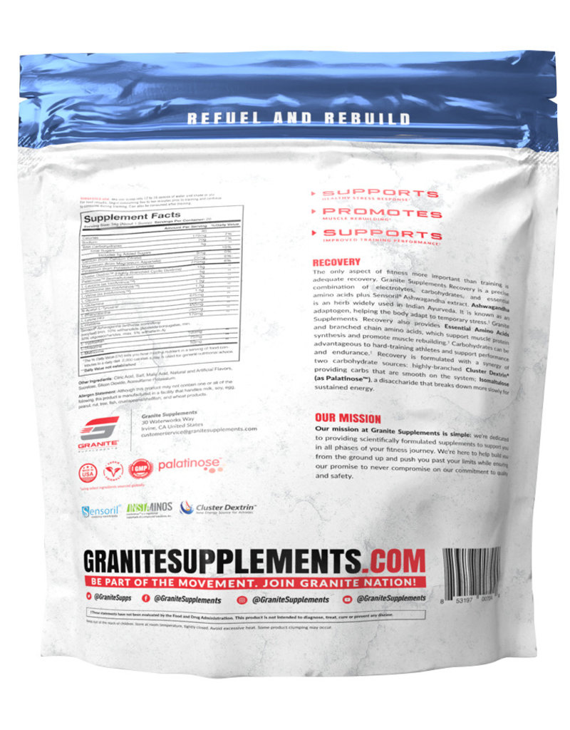Granite Granite Supplements Recovery
