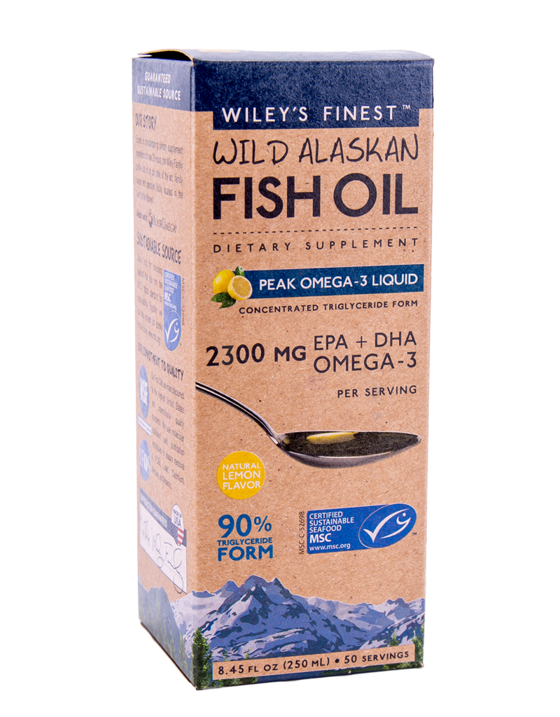 Wiley's Finest Wiley's Finest 2150mg Liquid EPA + DHA Omega-3
