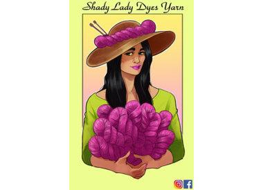 Shady Lady Dyes Yarn