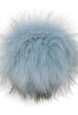 Estelle Faux Fur Pompom with Snap