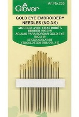 Gold Eye Embroidery Needles