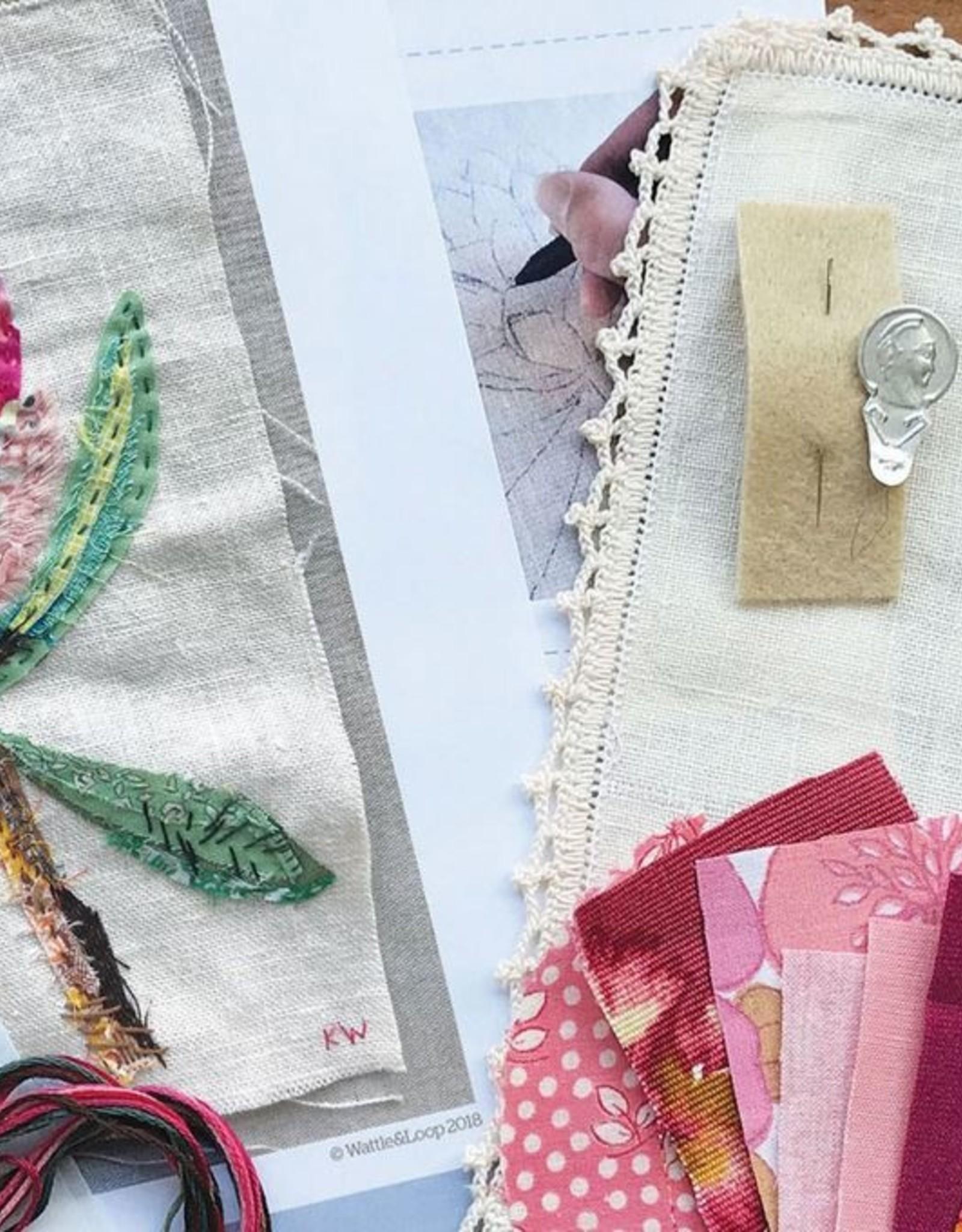 Wattle & Loop Slow Stitching Kit