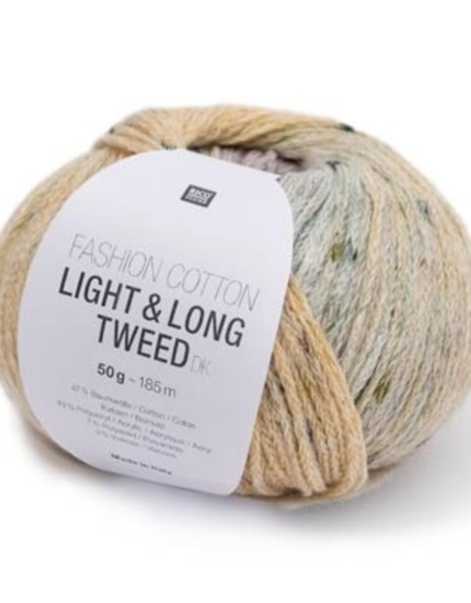 Fashion Cotton Light & Long Tweed