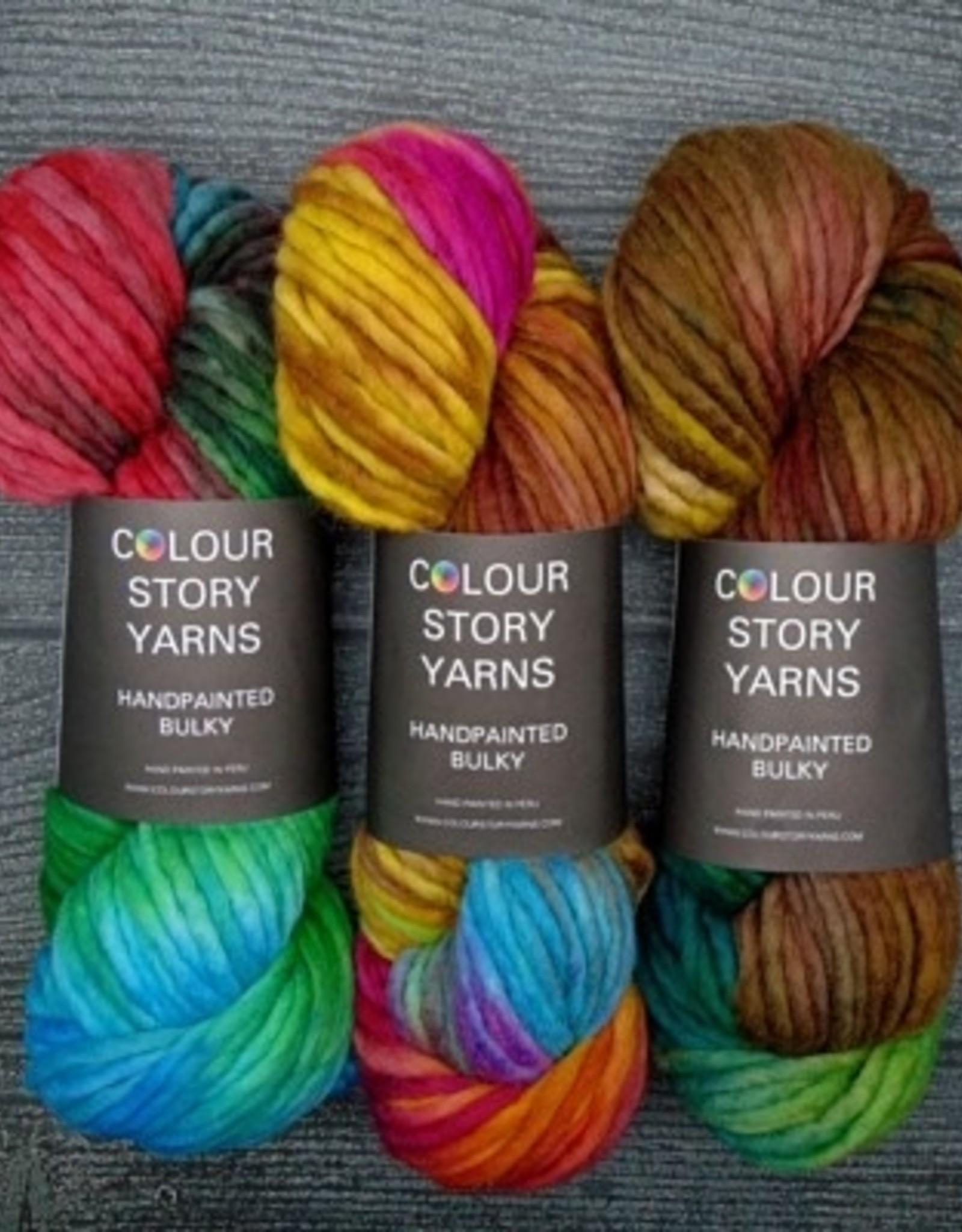 Colour Story Yarns Colour Story Yarns Handpaint Bulky