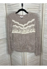 Andre by Unit Lace Detail Top