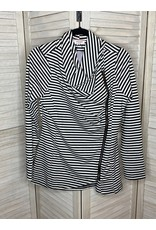 Andre by Unit Stripe  Jacket with Asymlmeltrical Zip