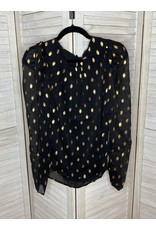 Andre by Unit Polka Dot Blouse