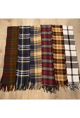 Anzell Plaid Scarf