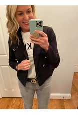 Must Have Black Double Breasted Blazer