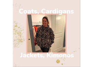 Coats, Cardigans, Jackets and Kimonos