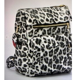 Shewin Animal Print Back Pack - Gray or Khaki