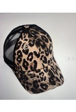 Shewin Animal Print Hat
