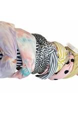 Merville Polka dot headband pink
