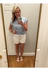 Be Cool Short sleeve denim shirt