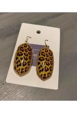 Leopard Wire Earrings