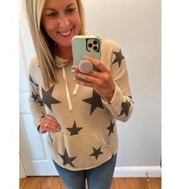 Hopely Oversized star hoodie