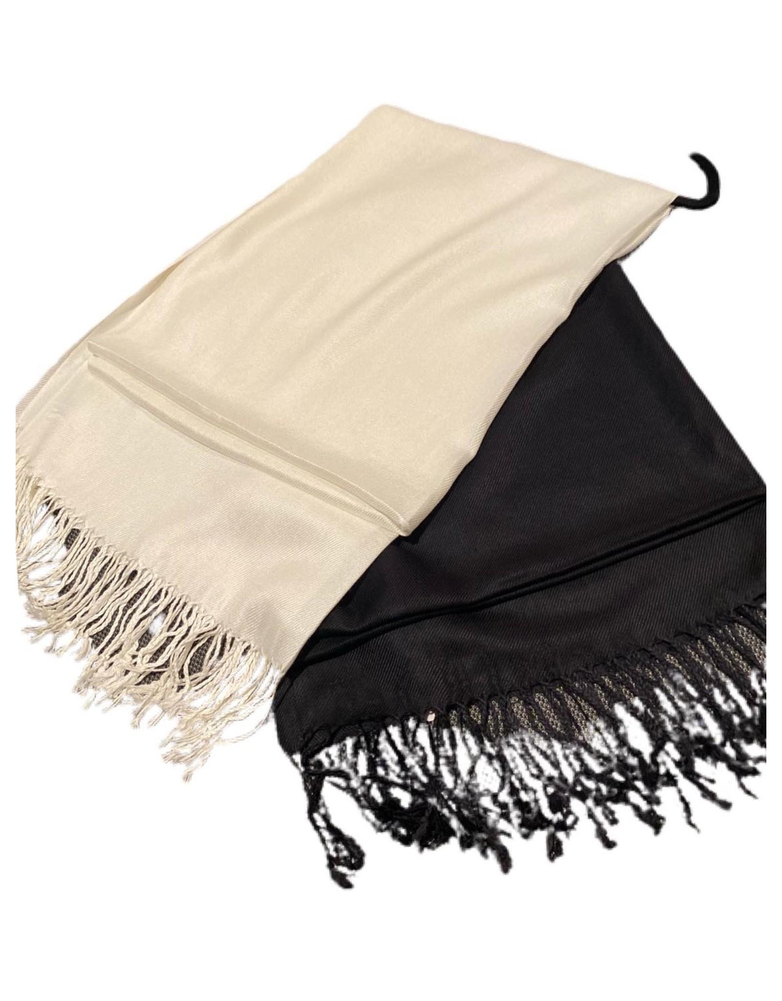 Pashmina - Black or White