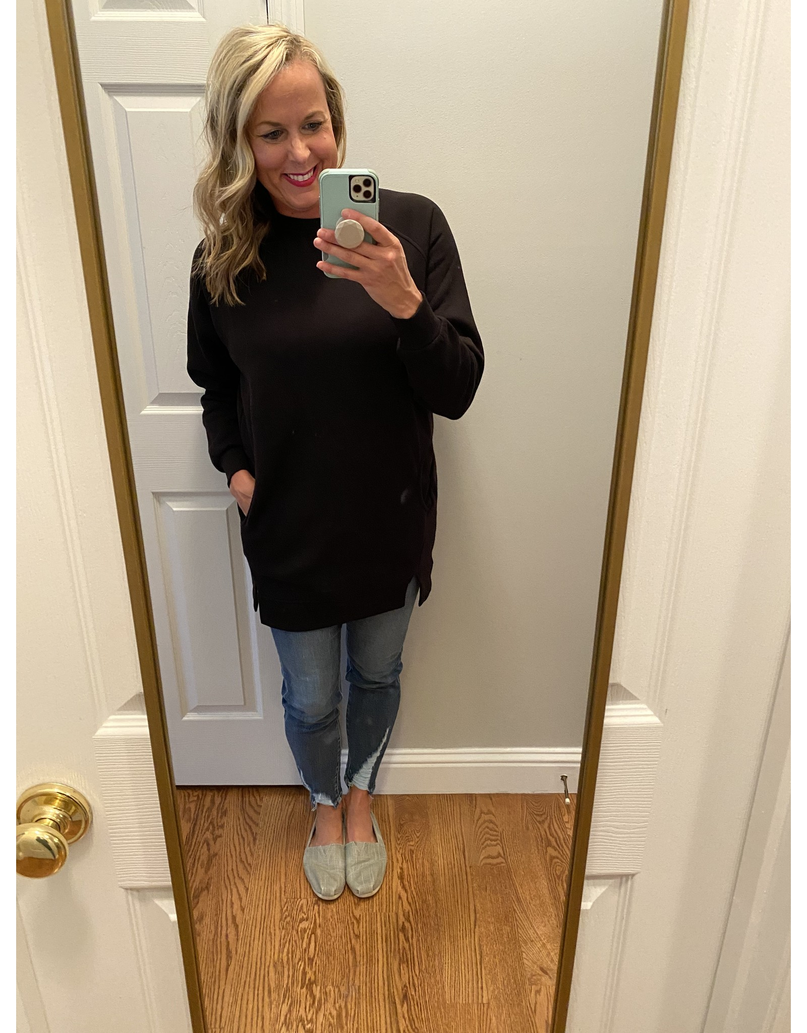 Zenana Oversized sweatshirt black