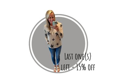Last One Left - 15% off! Final Sale