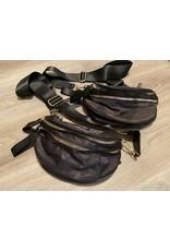 BC Handbags Fanny pack green camo or black pattern