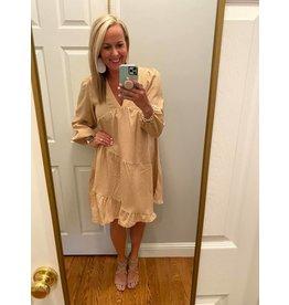 Mittoshop Gingham babydoll dress