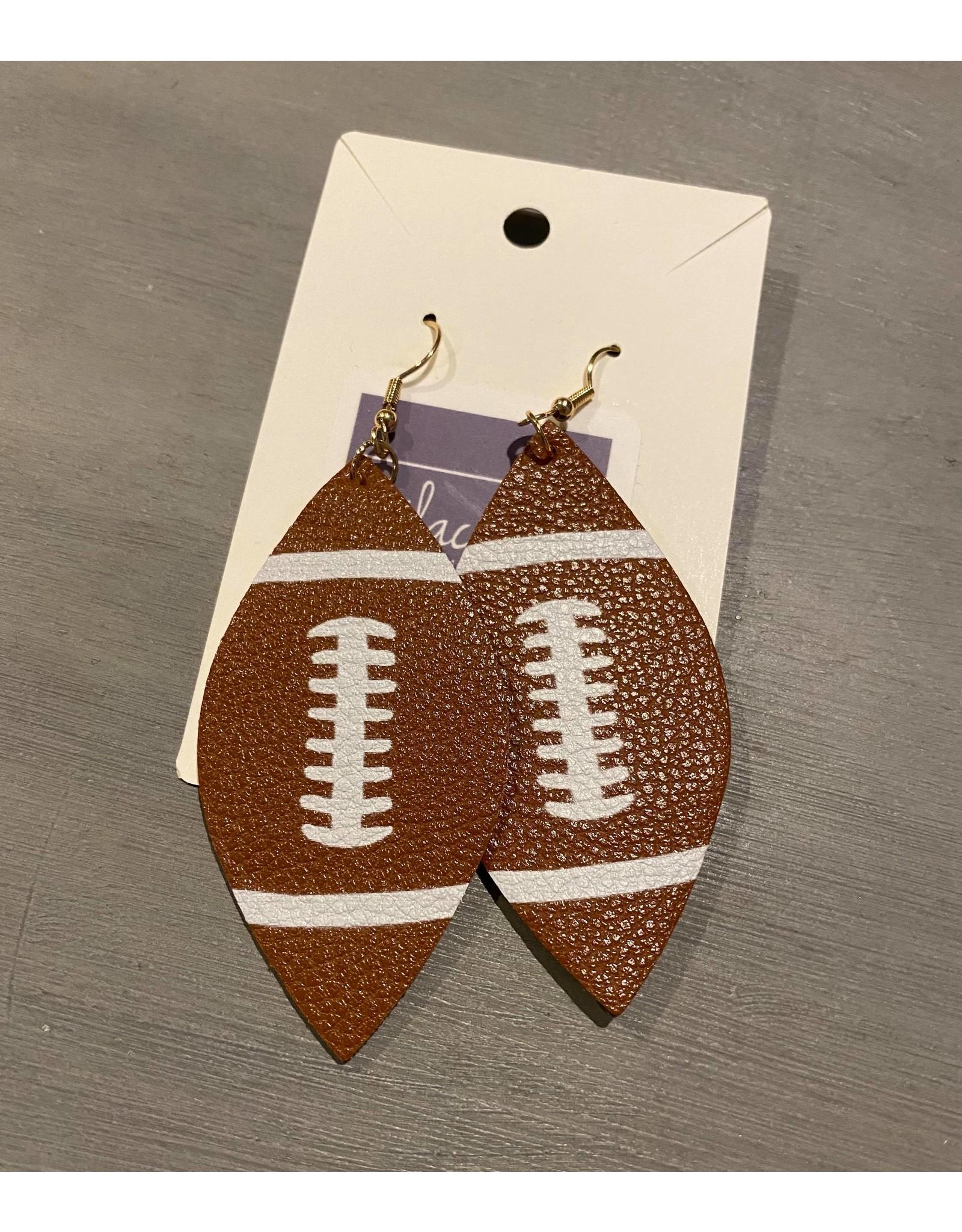 MYS Wholesale Football dangle earrings