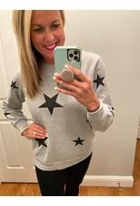 Zenana Star sweatshirt w pockets