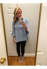 Zenana Bell sleeve tunic