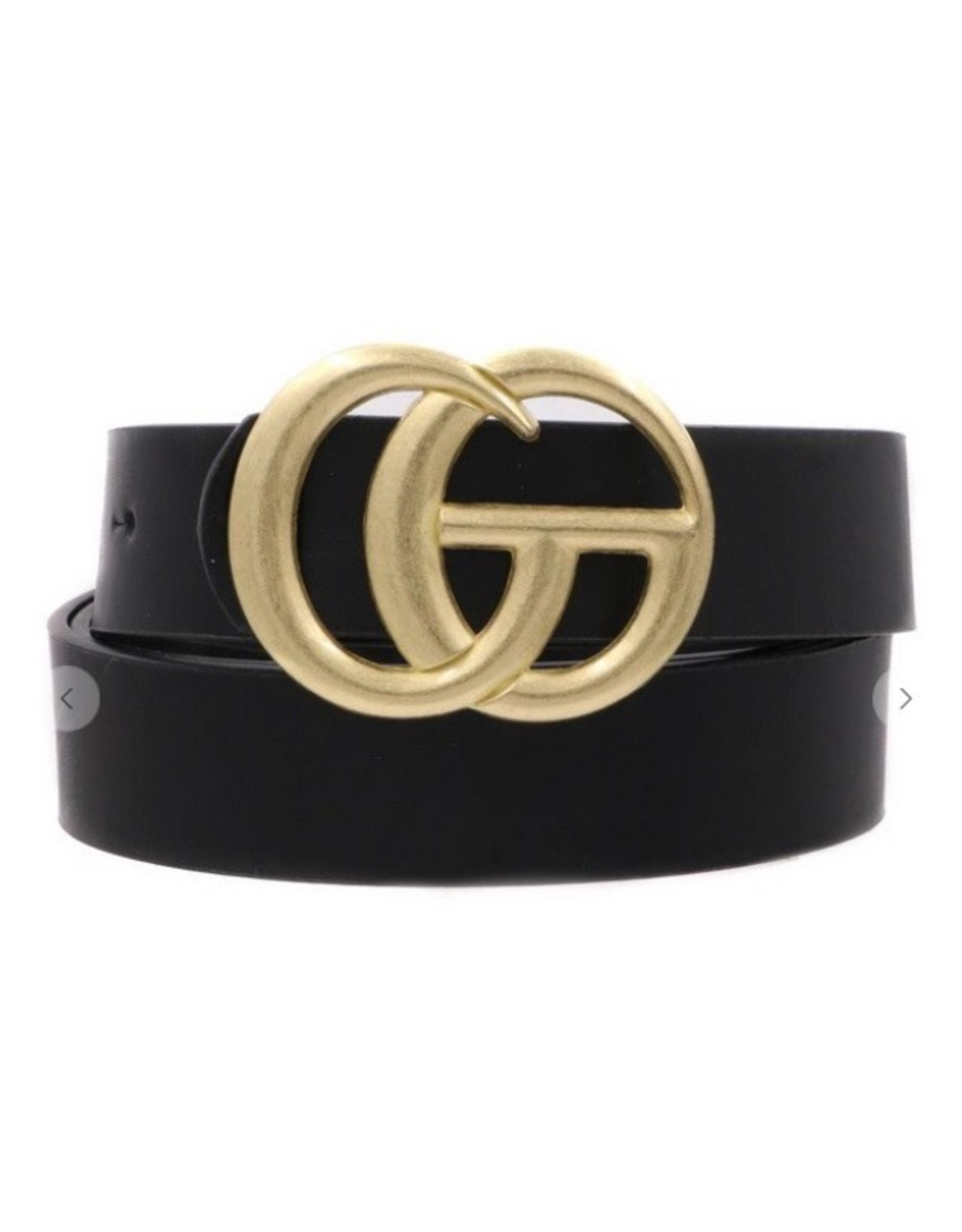 """Artbox 1"""" belt with gold buckle"""