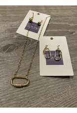 What's Hot Gold necklace with locket pendant