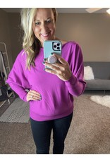 Andre by Unit Knit top ivory or magenta