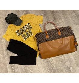 Game Day shirt mustard- L