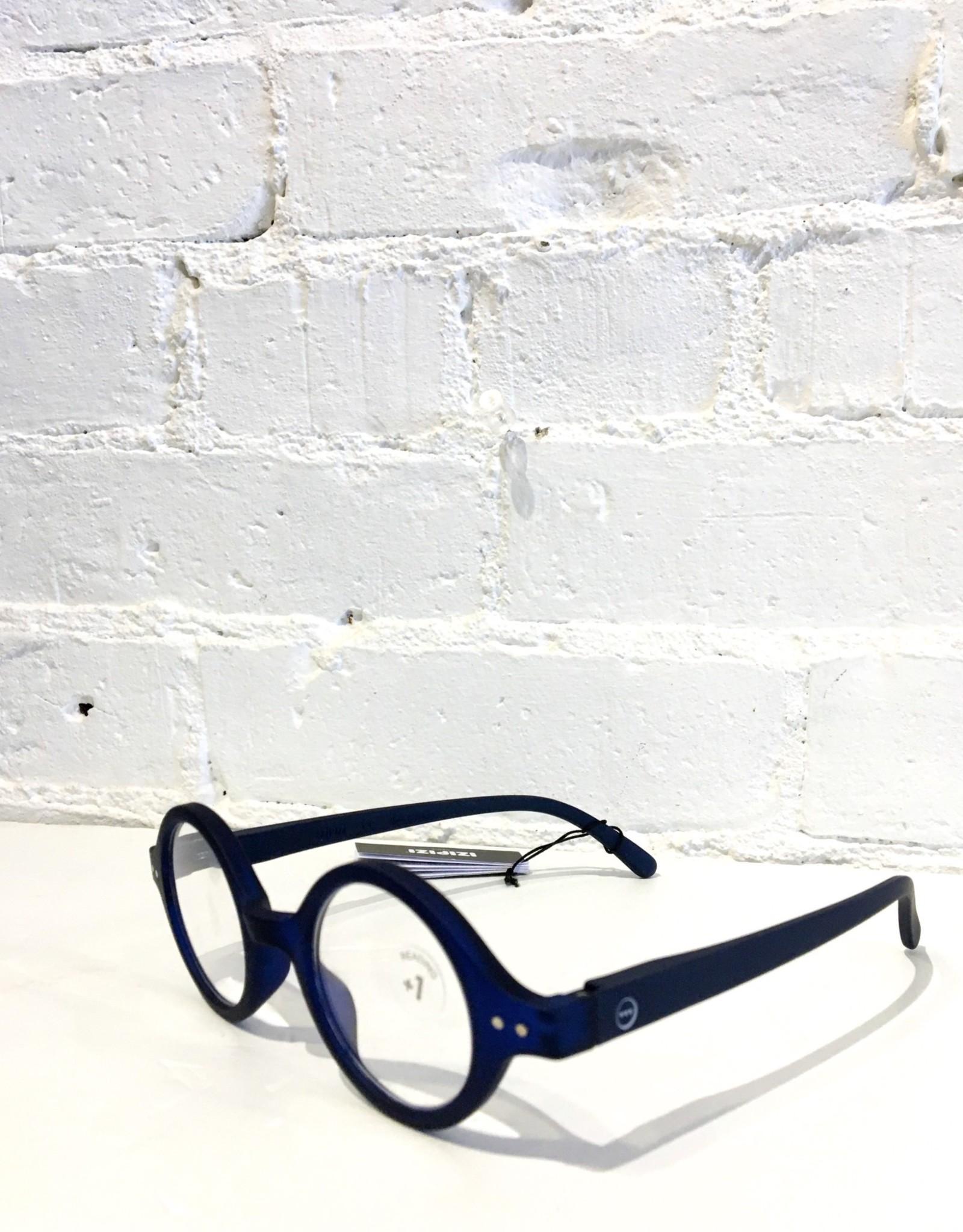 Izipizi Cool Heat Reading Glasses- #J- Archi Blue