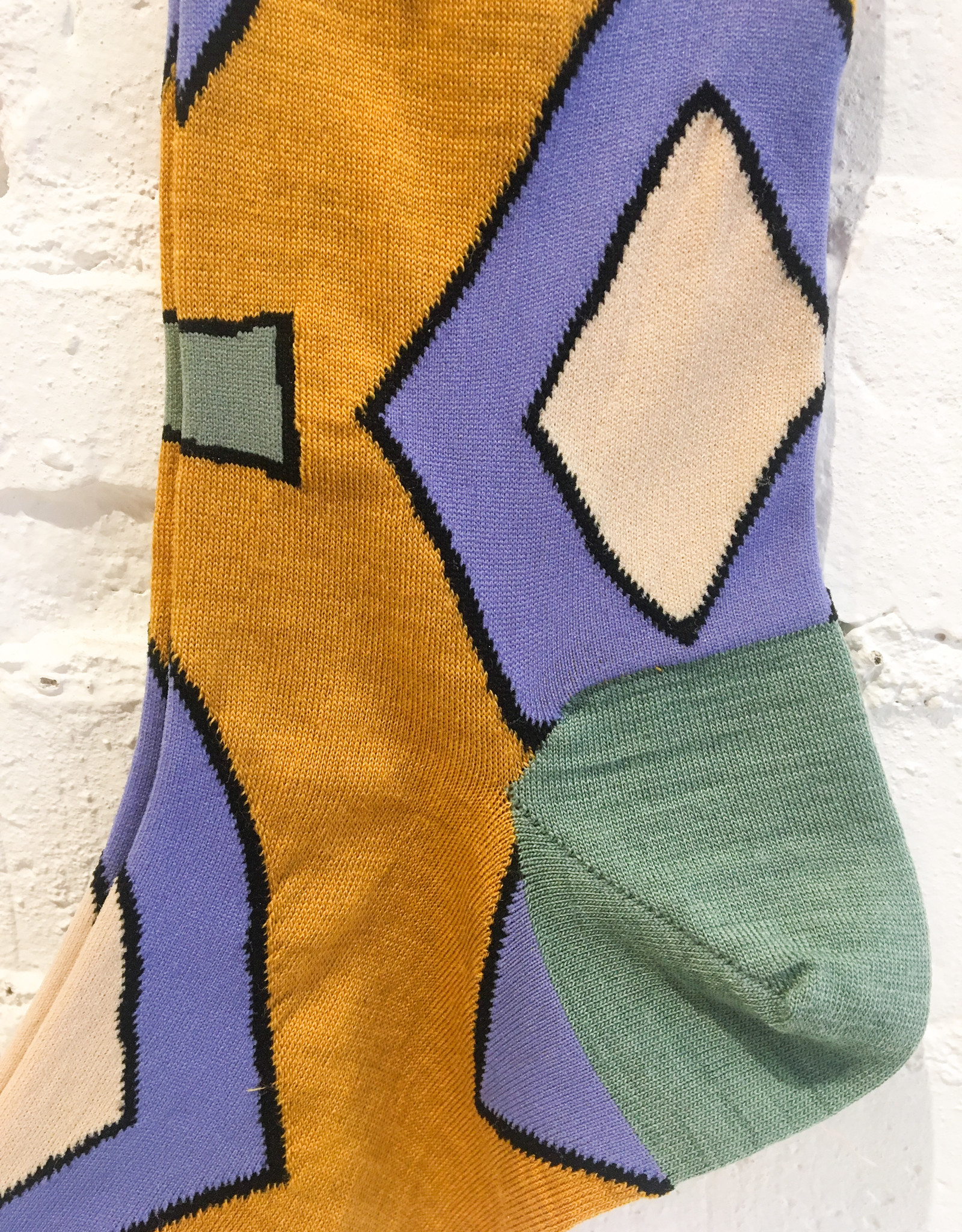 Hansel From Basel Geometric Socks