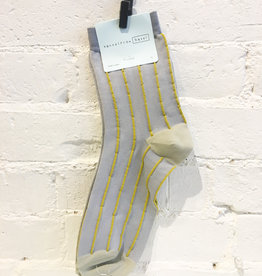 Hansel From Basel Textured Striped Socks