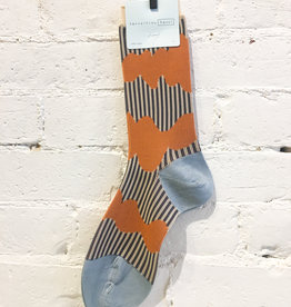 Hansel From Basel Wavy Striped Socks
