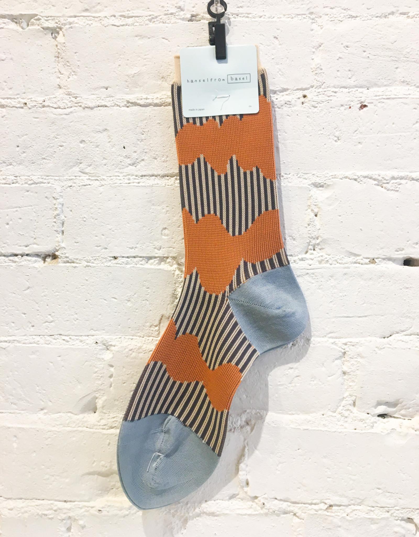 Hansel From Basel Wavy Striped Socks