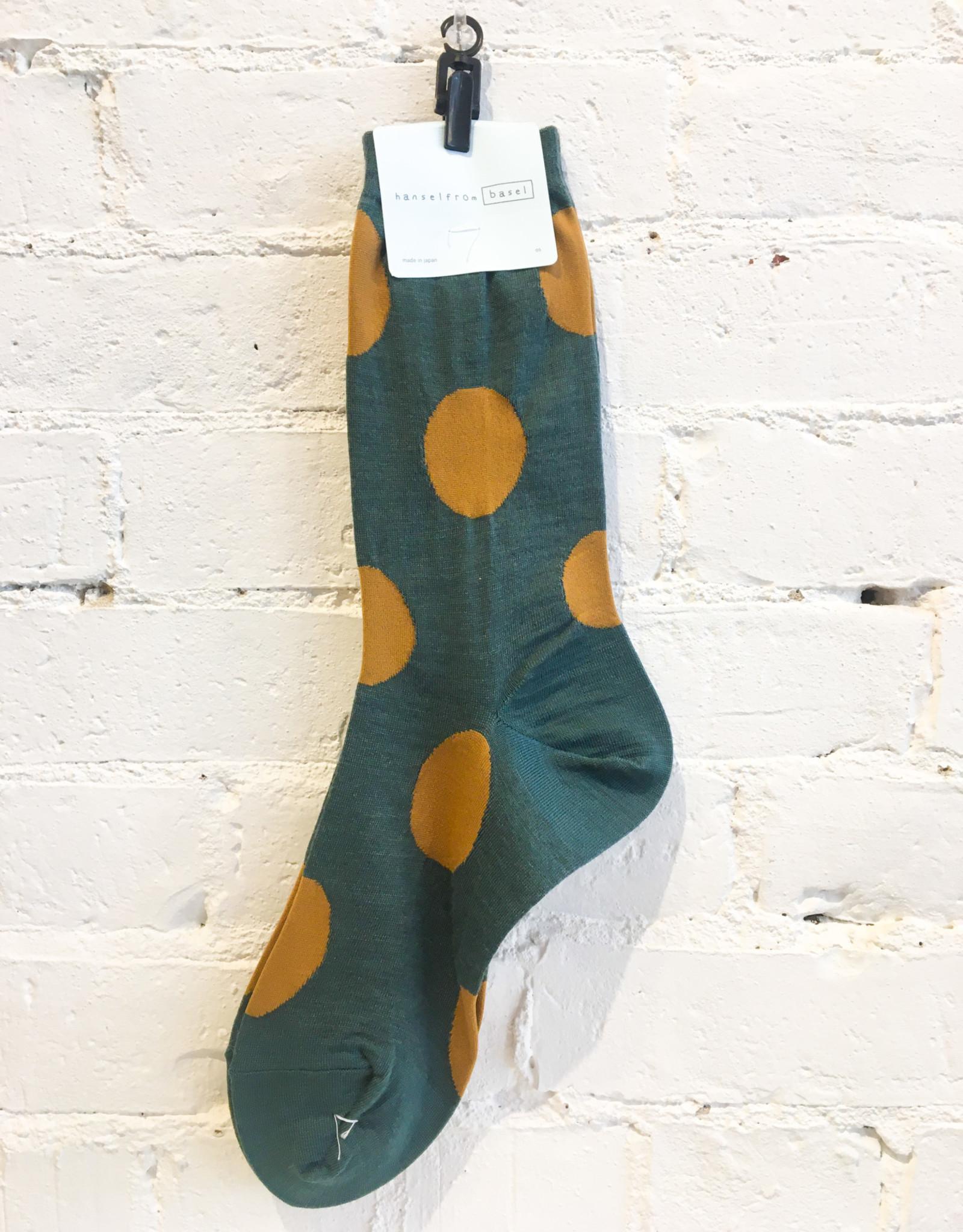 Hansel From Basel Polka Dotted Socks