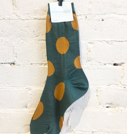 Hansel From Basel Polka Dotted Socks